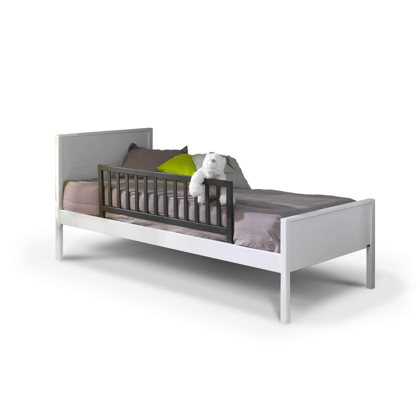 barri re de lit enfant 120 cm gris anthracite idkid 39 s. Black Bedroom Furniture Sets. Home Design Ideas