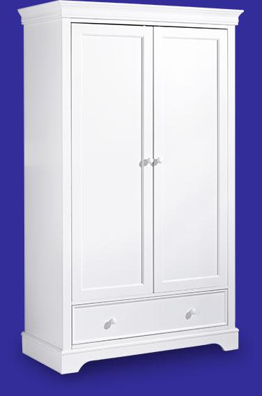 armoire-bébé-style-classique-coloris-blanc-collection-mel-idkids