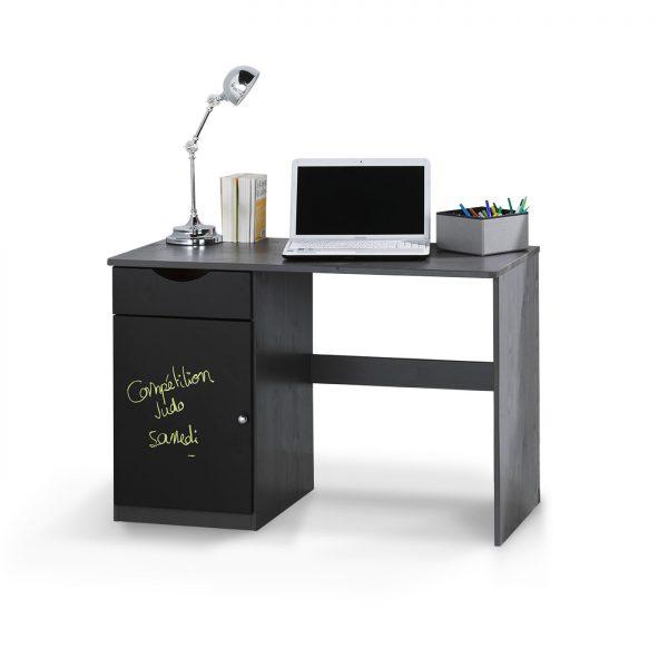 bureau-enfant-coloris-gris-anthracite-tiroir-niche-rangement-peinture-ardoise-idkids