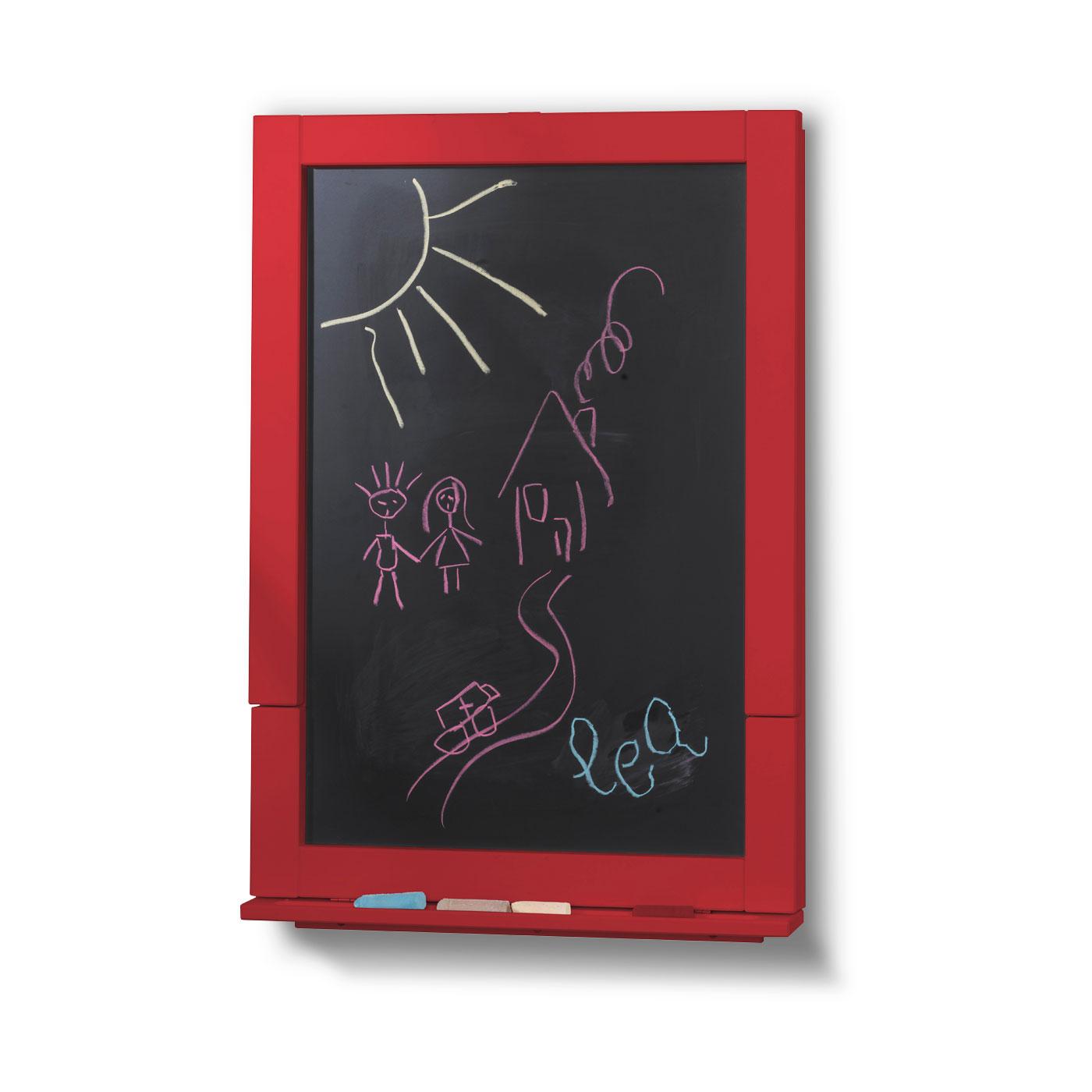 tableau bureau 2en1 enfant rouge idkid 39 s. Black Bedroom Furniture Sets. Home Design Ideas