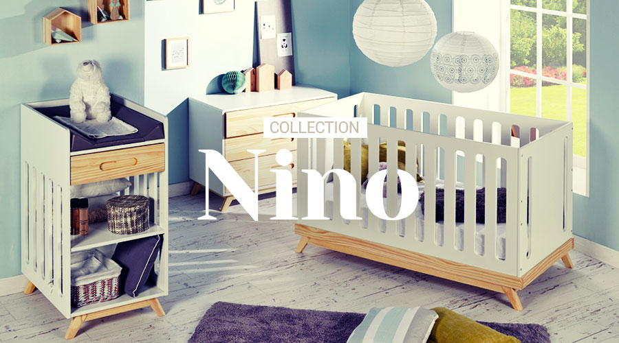 Chambre b b collection nino idkid 39 s for Chambre bebe cocktail scandinave