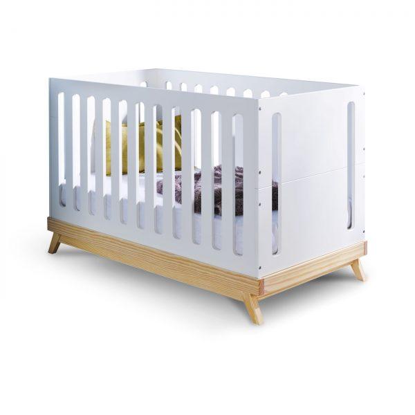 lit-bébé-barreaux-blanc-scandinave-nino-idkids
