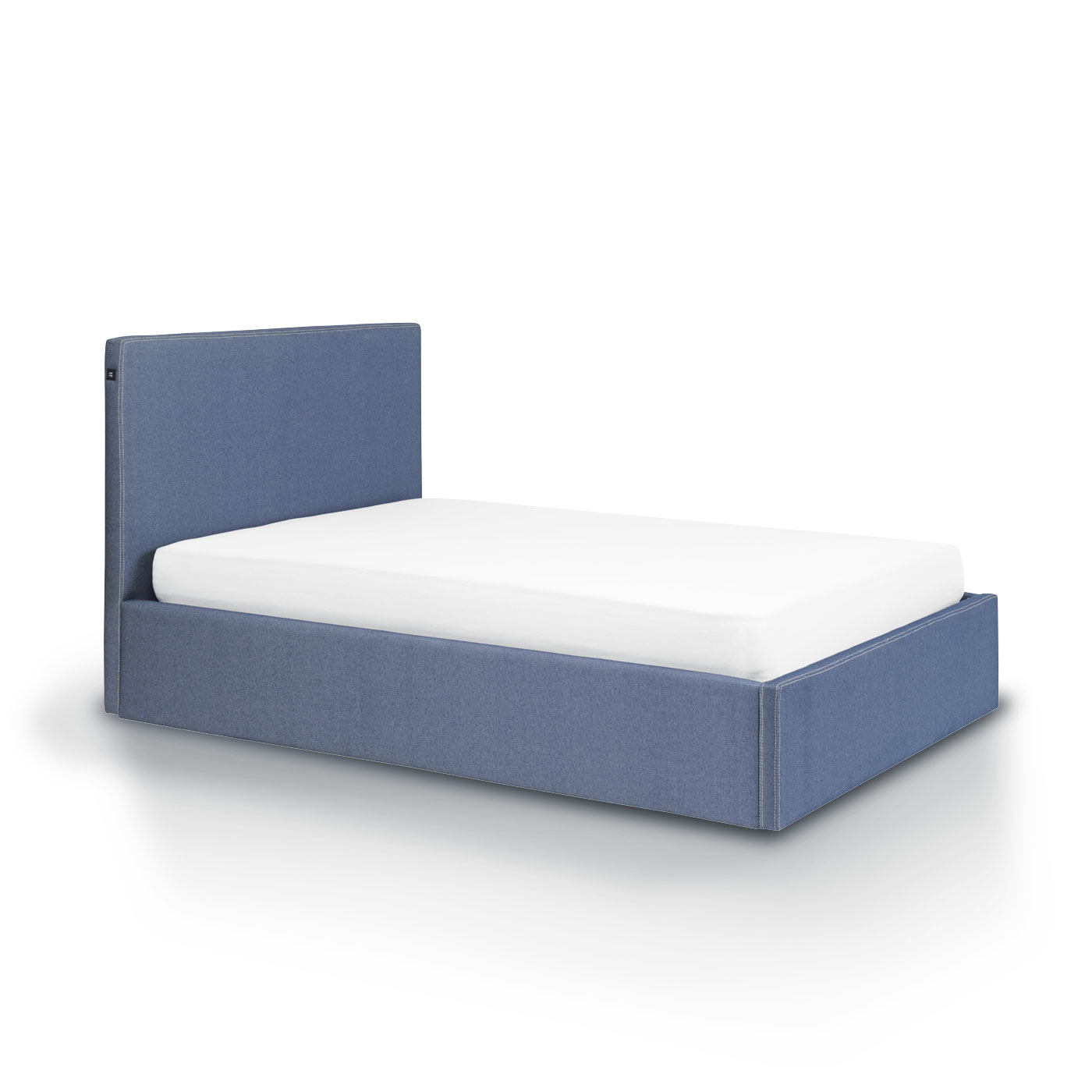lit coffre 140 atlanta tissu blue jean 39 s idkid 39 s. Black Bedroom Furniture Sets. Home Design Ideas