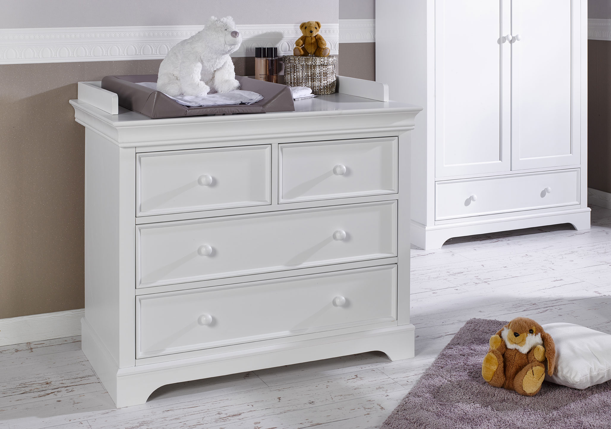Commode b b classique mel idkid 39 s - Plan a langer adaptable commode ...