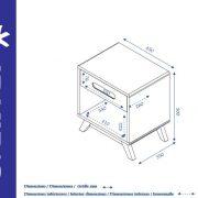 chevet-enfant-scandinave-nino-dimensions