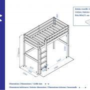 lit-mezzanine-enfant-en-bois-wood-dimensions