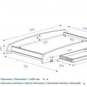 table-a-langer-pour-lit-bebe-idkids-dimensions