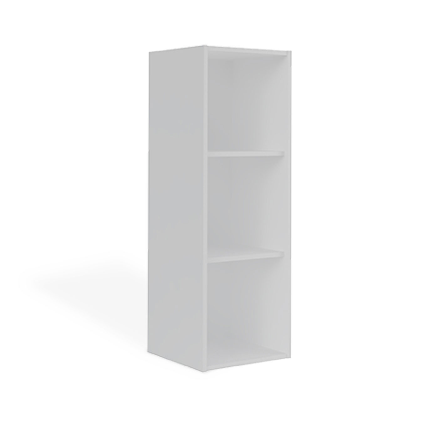 casier de rangement trois cases blanc idkid 39 s. Black Bedroom Furniture Sets. Home Design Ideas