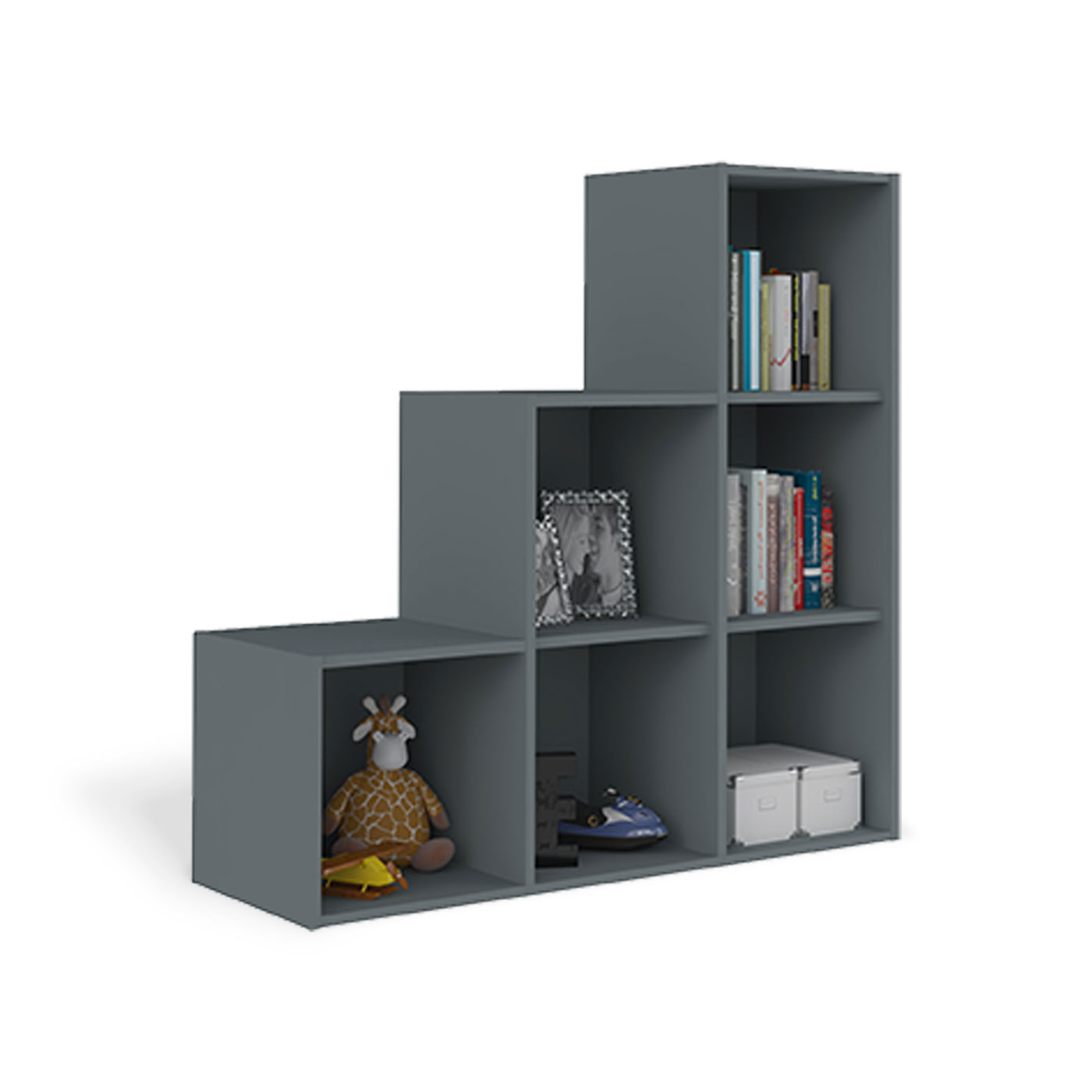casiers metalliques de rangement vinco module de bureau tiroirs gris anthracite with casiers. Black Bedroom Furniture Sets. Home Design Ideas