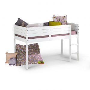lit-mi-hauteur-pour-chambre-d'enfant-coloris-blanc-idkids